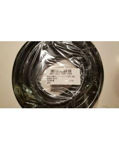 "1/2"" ID Aquarium Pond Vinyl Water Hose Tubing Black - 25 foot Roll"