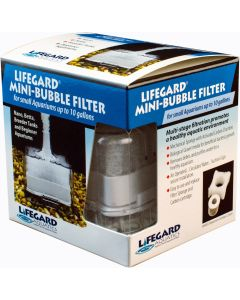 LIFEGARD ® MINI-BUBBLE FILTER